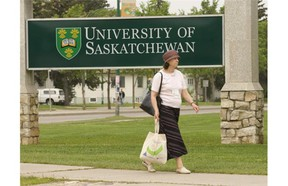 The University of Saskatchewan logo can be seen in this StarPhoenix file photo