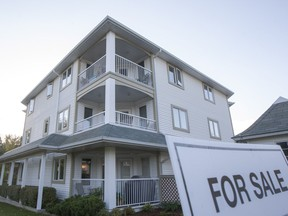 Saskatoon's real estate market is returning to balanced conditions with the exception of inexpensive apartment-style condos, which remain mired in buyers' market territory.