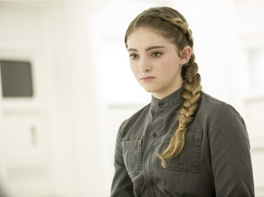 """Willow Shields stars as Primrose Everdeen in """"The Hunger Games: Mockingjay - Part 2."""""""