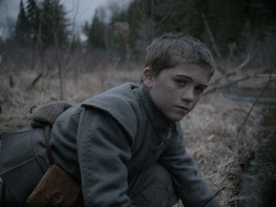"""Harvey Scrimshaw as Caleb in """"The Witch."""""""