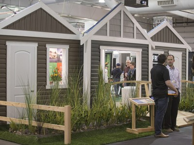 The HomeStyles Home Show has more than 400 booths in four halls for buyers, sellers and renovations, with local experts on hand for a variety of topics that can help you with your home projects. The show opened at Prairieland Park on March 11, 2016.
