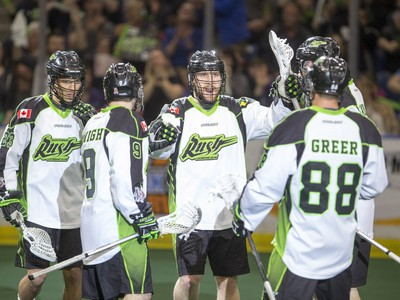 The Saskatchewan Rush are headed to the playoffs with a 13-5 record.