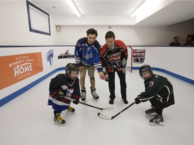 The top prize for the 2016 Kinsmen Winner's Choice Home Lottery, which officially kicked off April 19, 2016, is either a home that includes an indoor rink or one that includes a new SUV.
