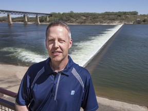 Saskatoon Light and Power's Kevin Hudson says the City of Saskatoon is eyeing several small-scale power projects, including a hydro station at the weir.