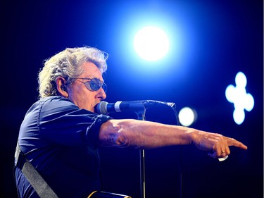 The Who with Roger Daltrey and Peter Townshend rocking SaskTel Centre in Saskatoon,  May 6, 2016.