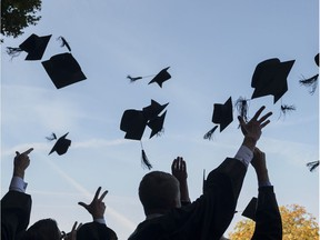 Last school year, 76.5 per cent of high school students received their diplomas on time, up from 75.6 per cent in 2015-16. The provincial government and the Saskatchewan School Boards Association want the graduation rate to hit 85 per cent by 2020.