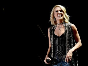 Singer Carrie Underwood performs onstage during 2016 CMA Festival - Day 2 at Nissan Stadium on June 10, 2016 in Nashville, Tennessee.