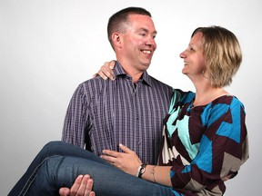 Dean Grindheim and Bonnie Schafer Grindheim met 20 years ago following a Garth Brooks concert in Saskatoon in August 1996 and have been married for 18 years with two sons.