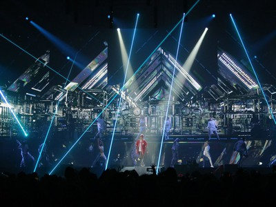Justin Bieber performs to a sold-out crowd at SaskTel Centre in Saskatoon on June 16, 2016.