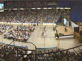 The 2015 Jehovah's Witness Convention at SaskTel Centre. Supplied Photo