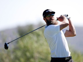 Graham DeLaet of Canada plays his shot from the second tee  during the first round of the Barracuda Championship at the Montreux Golf and Country Club on June 30, 2016 in Reno, Nevada.