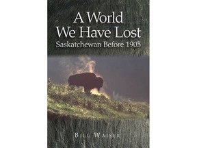 Book cover for A World We Have Lost by Bill Waiser