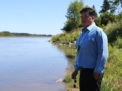 FSIN Chief Bobby Cameron is calling for First Nation participation in the oil spill command centre in Prince Albert on July 25, 2016.