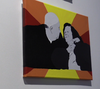 Tonia Bird's final pieces for Urban Canvas included a portrait of her grandparents.