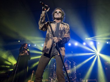 Starship, featuring Mickey Thomas, performs during Rock the River at the Bessborough Gardens in Saskatoon, August 19, 2016.