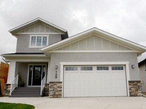 The Parade of Homes goes until Oct. 2. This Lexis Homes built show home at 126 Gillies Lane in Rosewood offers the busy family a functional floor plan they'll love to call home. (Jennifer Jacoby-Smith/The StarPhoenix)