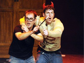 Jefferson Turner and Daniel Clarkson, the co-creators of Potted Potter.