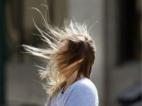 Saskatoon will see some very windy weather Tuesday with speeds expected to hit 90 kilometres per hour overnight.