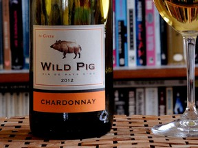 Wild Pig Chardonnay is the Wine of the Week.