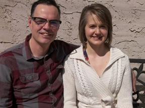 Brent Trickett, national director for Family Life Canada's Marriage Mentoring Initiative, and his wife Céleste.