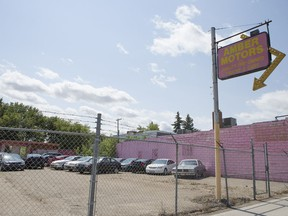 The owner of Amber Motors used car lot on 20th Street has opted not to appeal his 2017 reassessed property value because he does not think the appeal would be successful. Another 598 Saskatoon property owners have appealed their reassessment, the highest number in the last three reassessment cycles. (Kevin Hill/The StarPhoenix)
