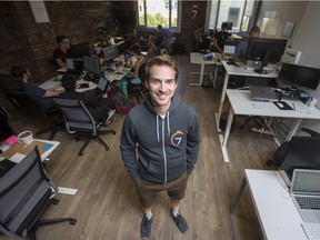 7Shifts CEO Jordan Boesch. His company has landed a $4.5 million investment from a Silicon Valley company
