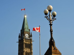 Parliament Hill in Ottawa on Friday, Sept. 15, 2017