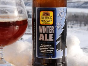 Frosty weather deserves a frosty pint, like Paddockwood's Winter Ale.