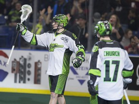 Ryan Keenan (left) and Robert Church, shown during Saskatchewan's win over Vancouver last weekend, picked up a repeat victory on Saturday in B.C.