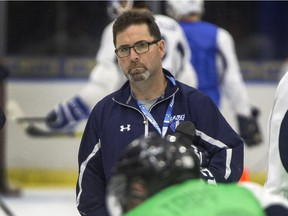 The Saskatoon Blades fired head coach Dean Brockman after the team ended its season with a 35-33-3-1 record to miss the playoffs.