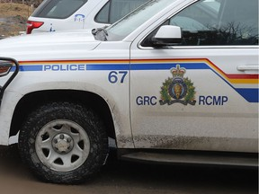RCMP responded to the scene