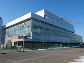 The Jim Pattison Children's Hospital is scheduled to open in the fall.
