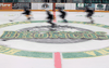 Players skate down the ice during the first day of the Humboldt Broncos training camp at Elgar Petersen Arena in Humboldt, Sask. in late August.