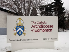 The Archdiocese of Edmonton.