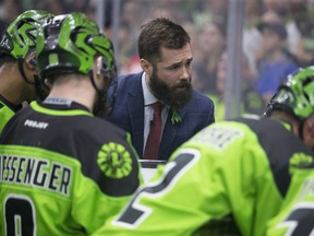 Saskatchewan Rush assistant coach Jimmy Quinlan will not be behind the team's bench this season.