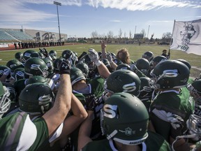The U of S Huskies are moving into the Canada West football final against the unbeaten Calgary Dinos.