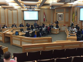 Saskatoon city council meets in council chambers at city hall. (Phil Tank/The StarPhoenix)