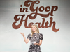 Gwyneth Paltrow speaks onstage at the In Goop Health Summit in June 2018 in California. Paltrow says Goop's Madame Ovary, which costs US$90 for a month's supply, is intended for women right before, during and after menopause.