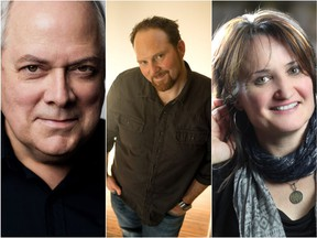 (left to right) Garry Gable, Trevor Wingerter, and Eileen Laverty are all featured performers in the Saskatoon Symphony Orchestra's 12 Days of Christmas show on Dec. 8, 2018.