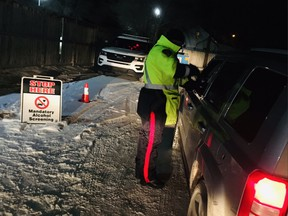 """Saskatoon police traffic services on its Twitter account noted a handful of charges, impounds or suspensions on New Year's Eve, but """"overall though, we saw a lot of sober (designated drivers) getting friends home safely."""""""