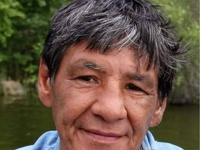 Lloyd Misponas, the subject of a suspicious death investigation in Pinehouse Lake, in a photo posted by his sister Virginia Misponas on Facebook. Friends of Lloyd are remembering the man as a kind-hearted person who was well known and respected in the community.