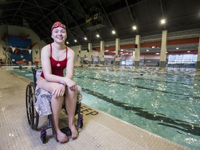 Paraswimmer Shelby Newkirk is making her Paralympic debut in Tokyo this year. Newkirk lives with dystonia, a rare neurological disease that affects nerve cells responsible for muscle contractions.