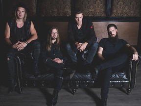 Saskatoon's One Bad Son is one of the biggest rock bands to come out of the city in years. (Supplied / Photo courtesy of Kurt Dahl)