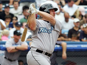 Matt Stairs, shown with the Toronto Blue Jays in 2007, will be the guest speaker at the Regina Red Sox dinner on April 27.