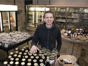 Tim Shultz and his wife Carla (not pictured) recently opened The Local Market, the storefront expansion of their Local & Fresh grocery delivery business. They sell Saskatchewan-grown products in Regina's Warehouse District, in the old Weston Bakery building.