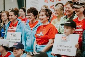 Saskatchewan Blue Cross has had the largest corporate team in the Saskatoon MS Walk for several years and is often among the top five provincial fundraising teams.