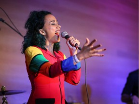 Denise Valle performs at the Summer Solstice Party at the Remai Modern on Saturday, June 22, 2019.