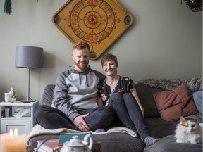 Thayne Robstad, left, and Beth Rogers founded Hearth Restaurant.