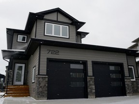 Worry-free with loads of curb appeal, this show home at 722 Bolstad Turn by Silverstone Developments has a custom feel in a family-friend design. (Jennifer Jacoby-Smith/The StarPhoenix)