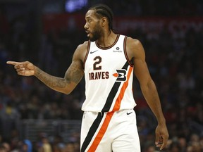 Kawhi Leonard is an L.A. Clipper now, but his winning influence remains strong with the Raptors. GETTY